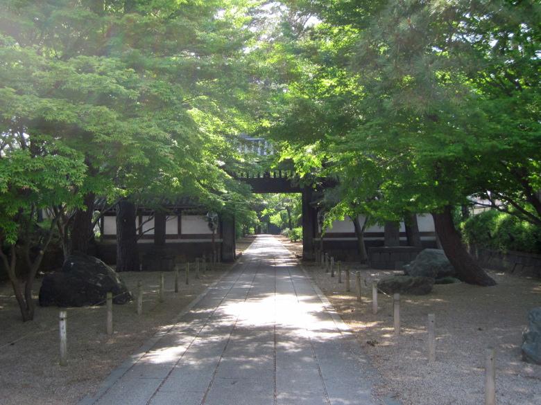 東漸寺の雰囲気