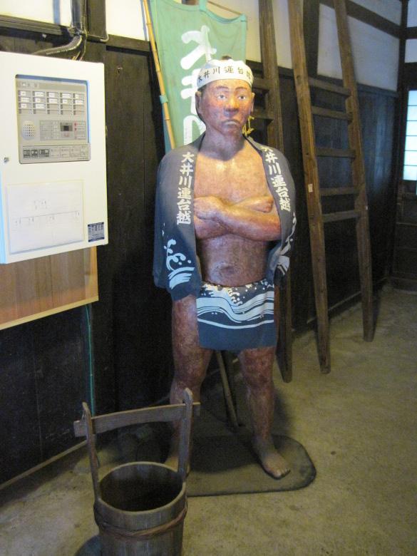 川越人足の人形