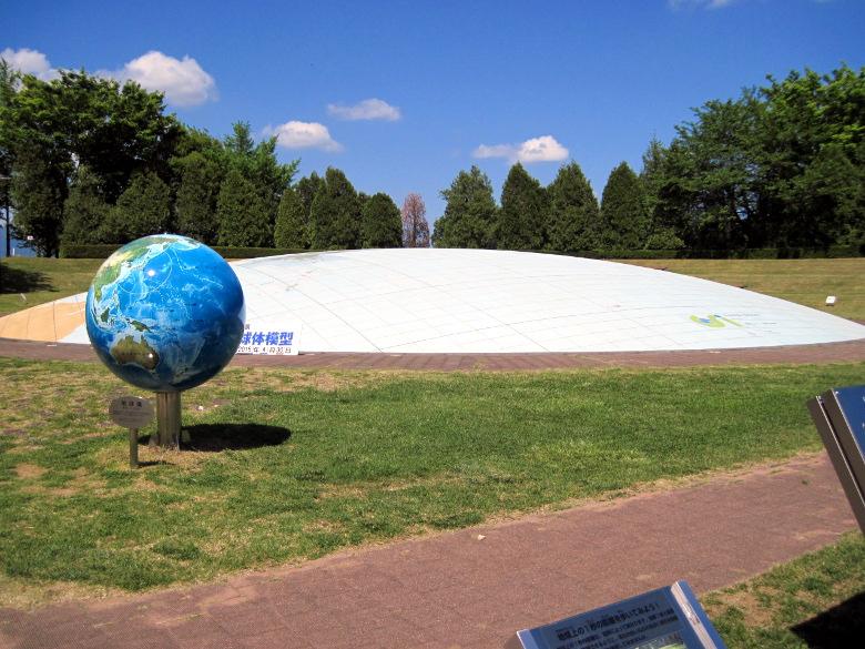 日本列島球体模型