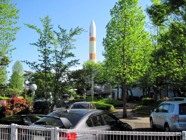 H-Ⅱロケットの実物大模型