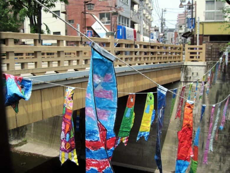 板橋と石神井川