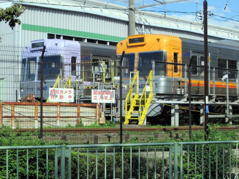 鉄ちゃんでなくても一枚撮りたくなる富士見ヶ丘検車区