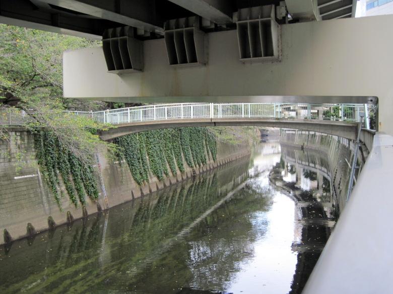 川上から撮影した一休橋