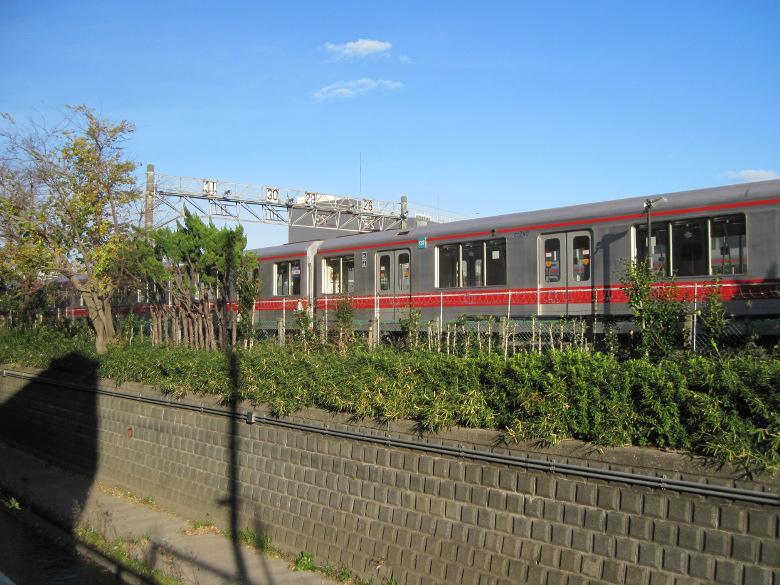 丸ノ内線の車両基地