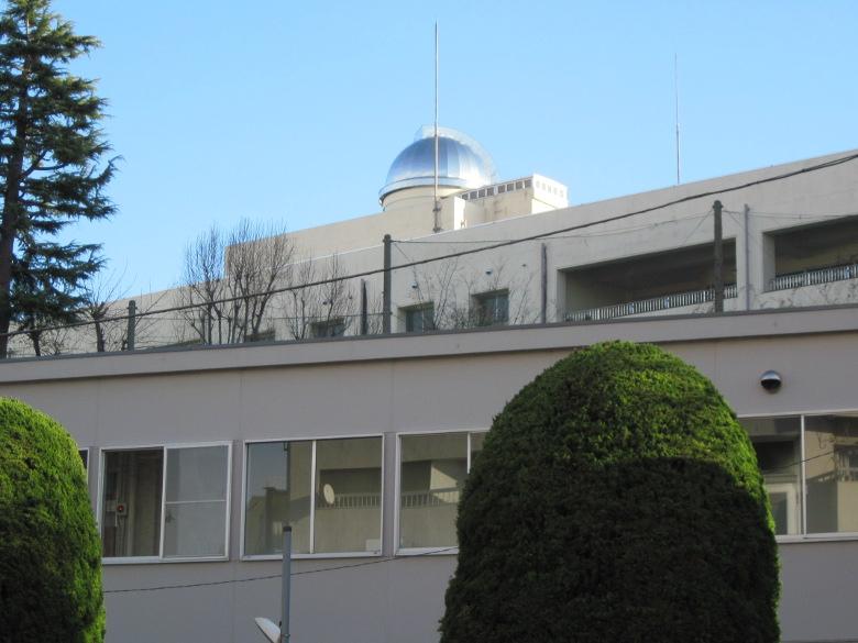 都立富士高等学校・附属中学校の天文台