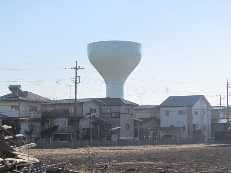 千葉県水道局の坂月高架水槽