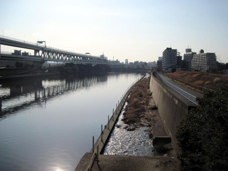 豊島橋から見た隅田川