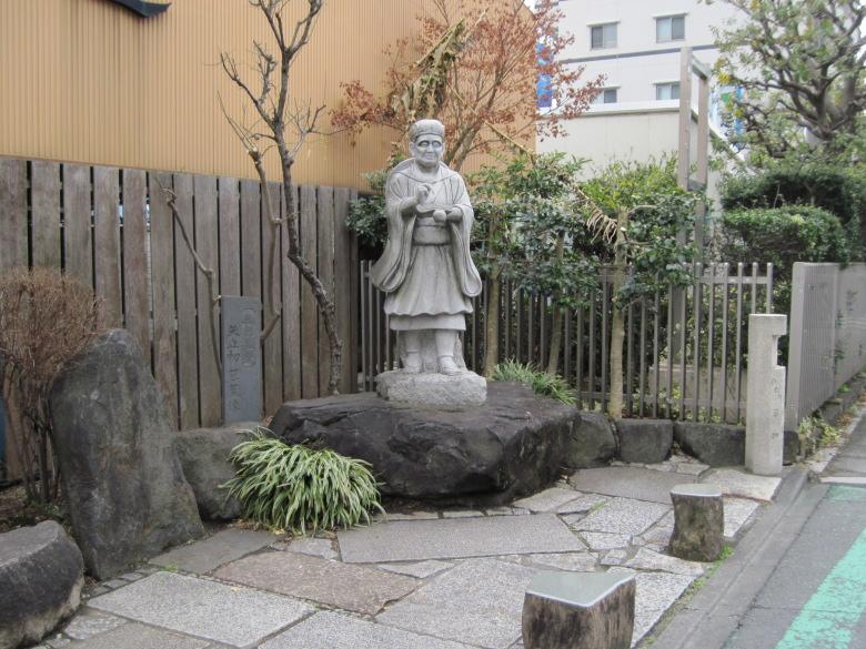 松尾芭蕉石像