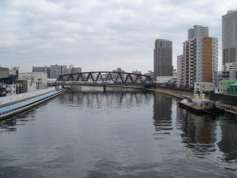 千住大橋からの眺め