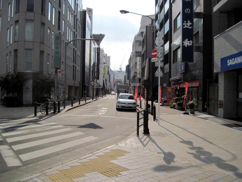 横山町大通りの入口