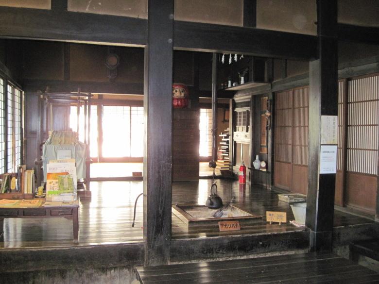 旧柳澤家住宅の内部
