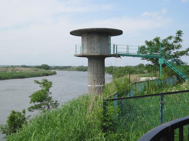関宿水門水位観測所