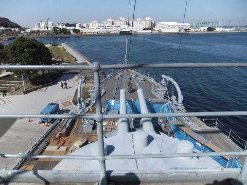 【参考】艦橋からの眺め(2011/03/05撮影)