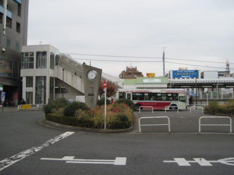西武柳沢駅南口