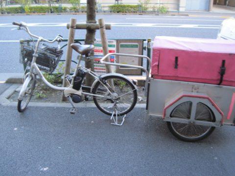自転車リヤカー