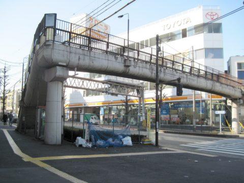 第三護国寺前歩道橋