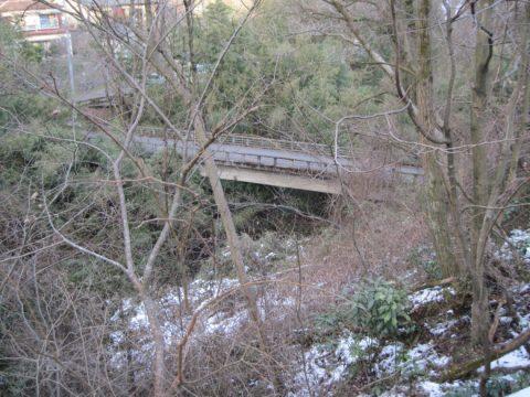 神奈川と山梨の県境に架かる橋