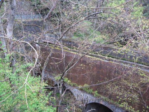 八ツ沢発電所施設第3号水路橋