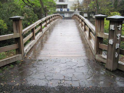 渡る前の猿橋