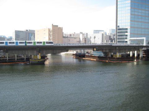 目黒川の河口(?)