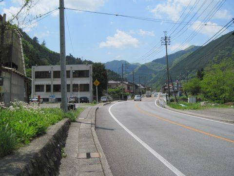 笹子駅付近からの眺め