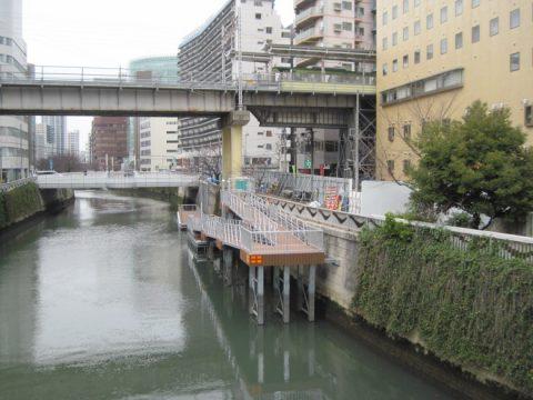 をふれあいK字橋から見た池上線