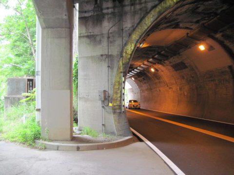 観音隧道接続点