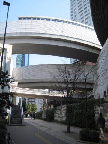 首都高速3号渋谷線からのループ