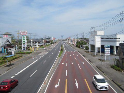 一直線の水戸街道