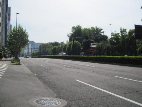 赤坂御所の樹木