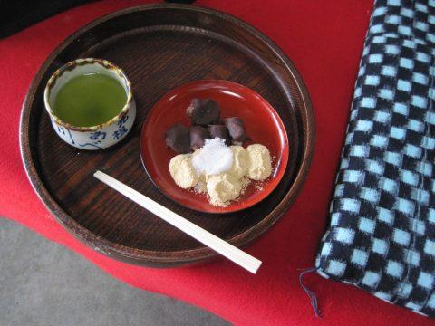 安倍川餅(府中、石部屋、2014/05/20)