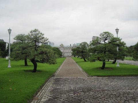迎賓館の庭