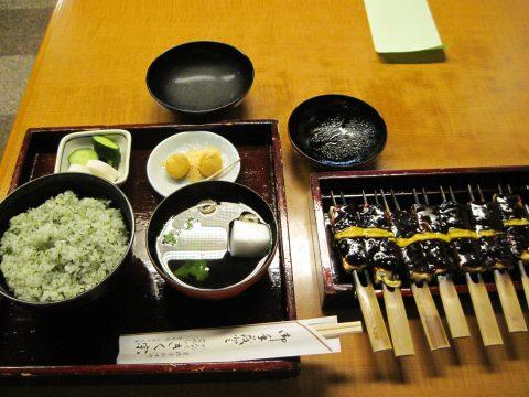 菜飯田楽(吉田、きく宗、2014/05/23)