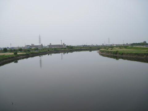 万場大橋から見た庄内川
