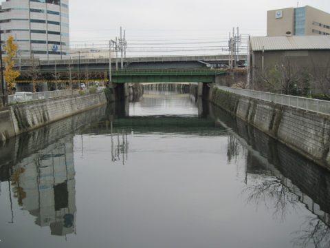 居木橋から見た目黒川