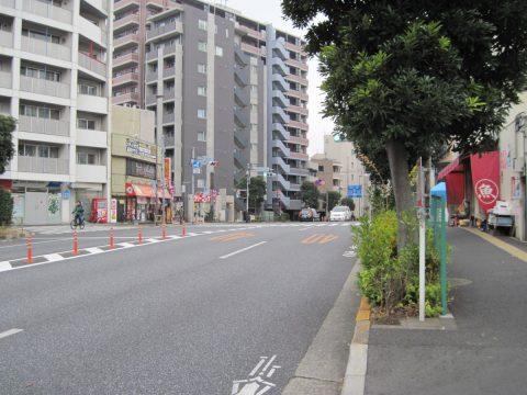 尾根を通る旧東海道