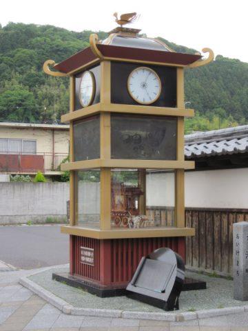 水口宿の時計台