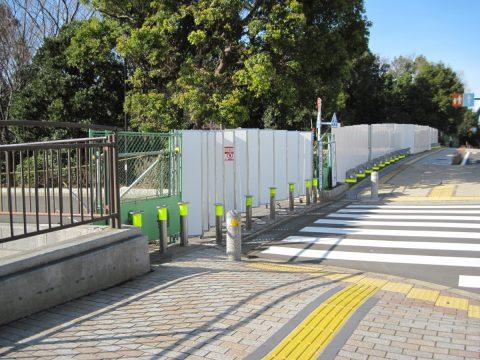 立入禁止の潮風公園