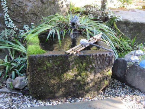 姫の井戸のお水