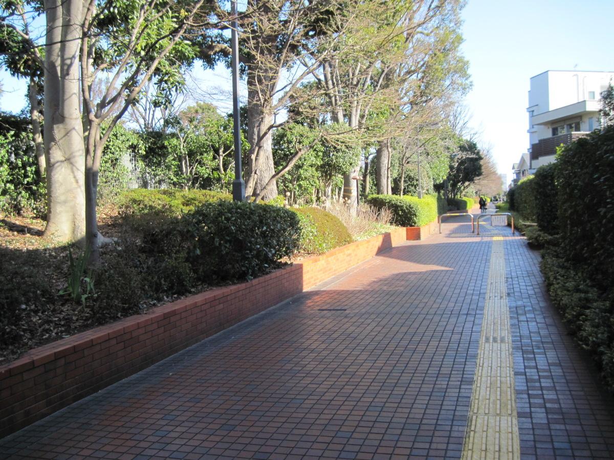 要町通りの歩道