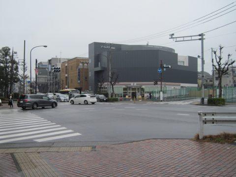 武蔵野病院前交差点