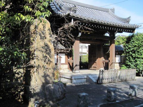 高圓寺の門