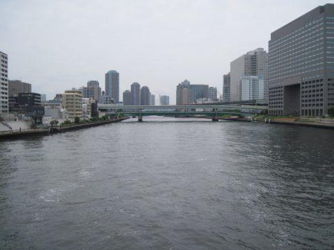 清洲橋からの眺め