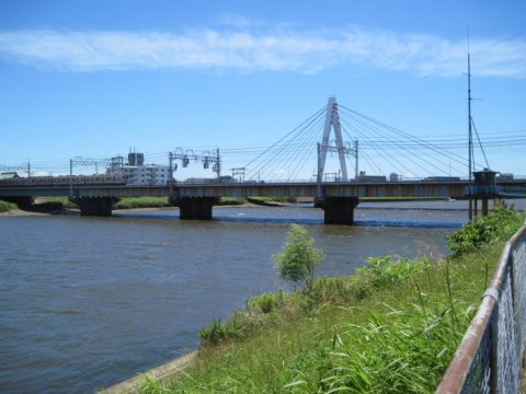 京成中川橋梁と高砂橋