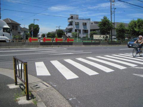 水戸街道と成田街道の追分