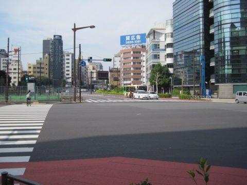 浅草橋の交差点