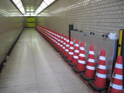 地下道の内部