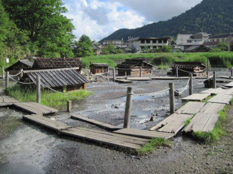 湯本温泉の源泉