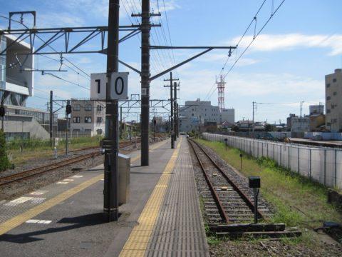 佐原駅0番線ホーム