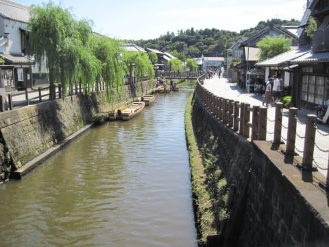 忠敬橋から見た小野川の風景